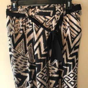 Guess silky patterned pants